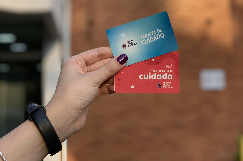 tarjeta de cuidado